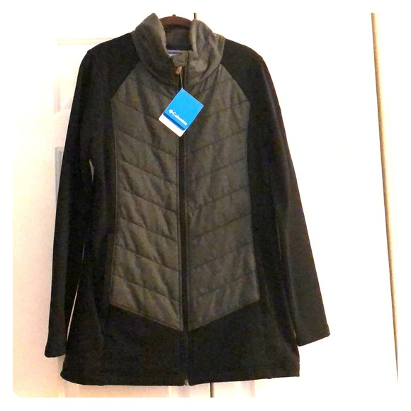 265033f4e Columbia Jackets & Coats | Nwt Womens Dandi Camp Jacket In Black ...